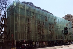 Glass fascia transforms two buildings